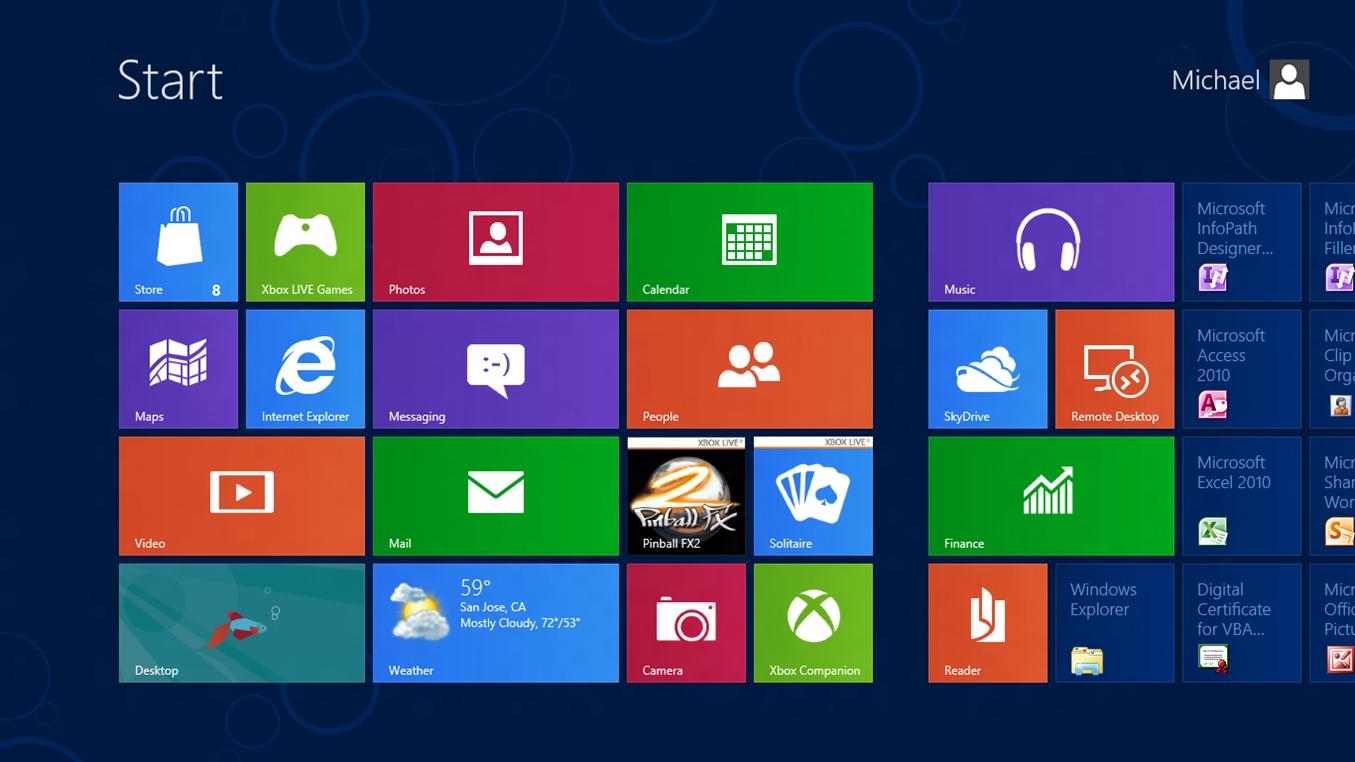 На windows 8 на лаптоп преинсталиране на