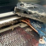почистване на PC лаптоп от прах