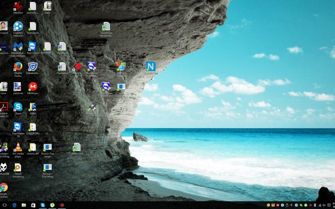 Инсталиране на Windows 10 на лаптоп