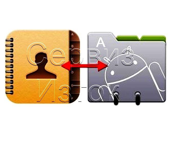 Възстановяване на контакти от телефон на андроид